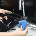 Các bước vệ sinh bếp gas âm đúng cách